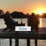 Romantic waterfront setting