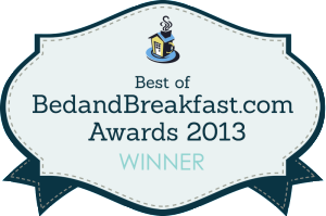 bed and breakfast .com award banner