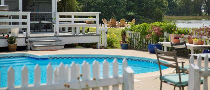 Our Swimming Pool Is Chlorine Free Inn At Tabbs Creek