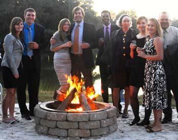 fireside gathering