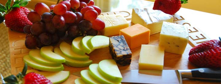 Cheese & Fruit tray