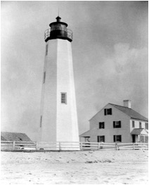historic new point comfort lighthouse
