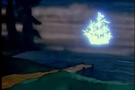 Ghost ship on Chesapeake Bay