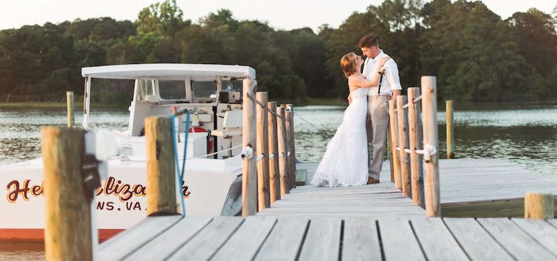 Elope On A Boat Elopement Package Inn At Tabbs Creek