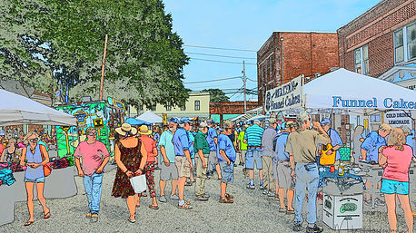 Mathews Market Days Photo by Mike Hazelwood